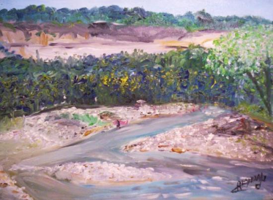 Les trois rivieres 45cm/35cm REYNAUD