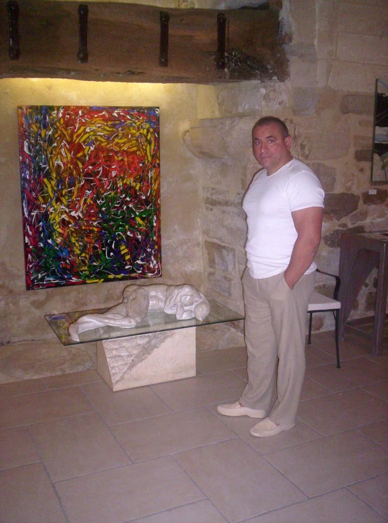 serge SERRA sculpteur peintre
