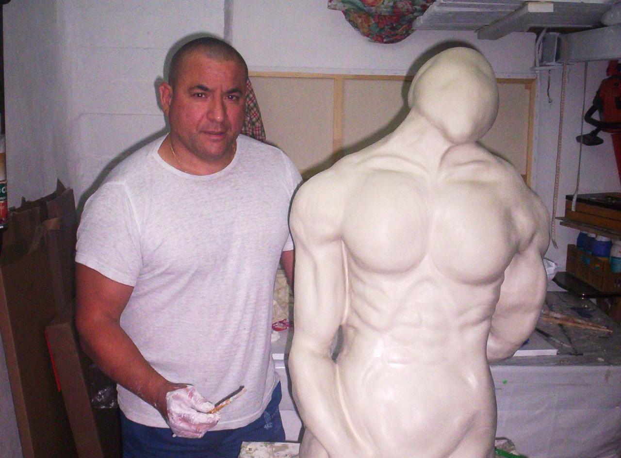 serge SERRA sculpteur